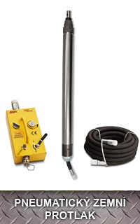 Pneumatický zemní protlak – Therma MAX K 130 S