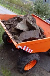 Damper AUSA 201 uveze až 2 tuny zeminy nebo kamení