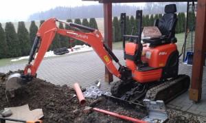 Oprava kanalizačního potrubí